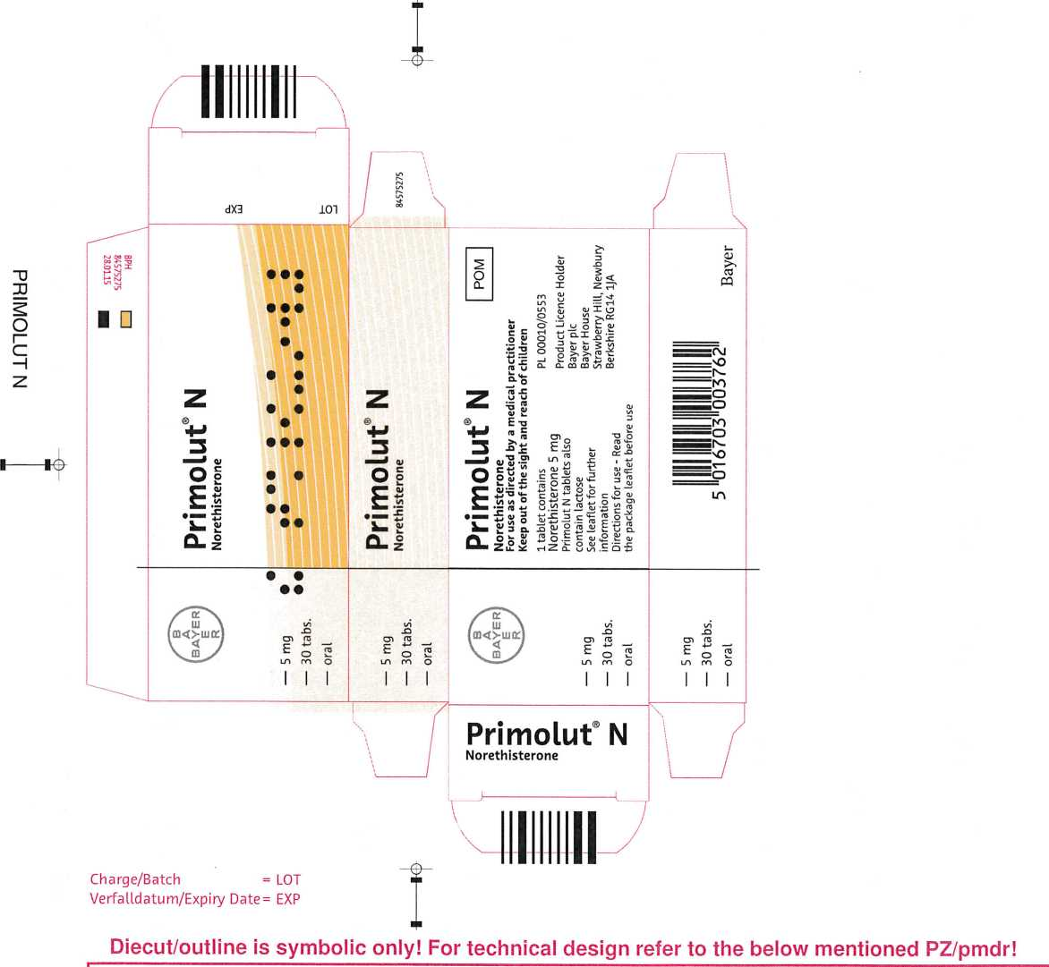 Primolut N - Leaflet